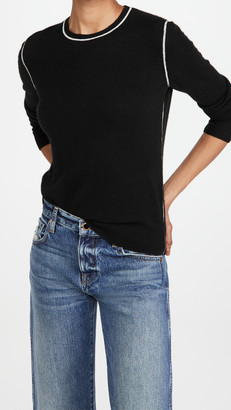 Theory Crew Neck Pullover Cashmere Sweater