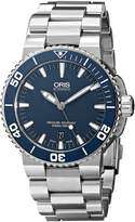Oris Men's 73376534155MB Divers Stainless Steel Dial Watch