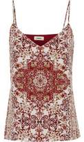 L'Agence Jane Printed Silk Camisole