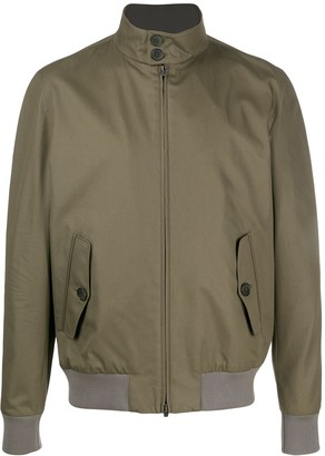 Herno Funnel-Neck Zipped Jacket