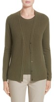 Lafayette 148 New York Women's Chain Detail Cashmere Cardigan