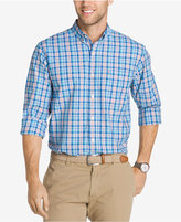 Izod Men's Saltwater Breeze Plaid Shirt