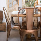 Ciel A Copper Or Brass Industrial Dining Chair