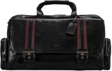 Maxwell Scott Bags Men S High Quality Black Leather Holdall
