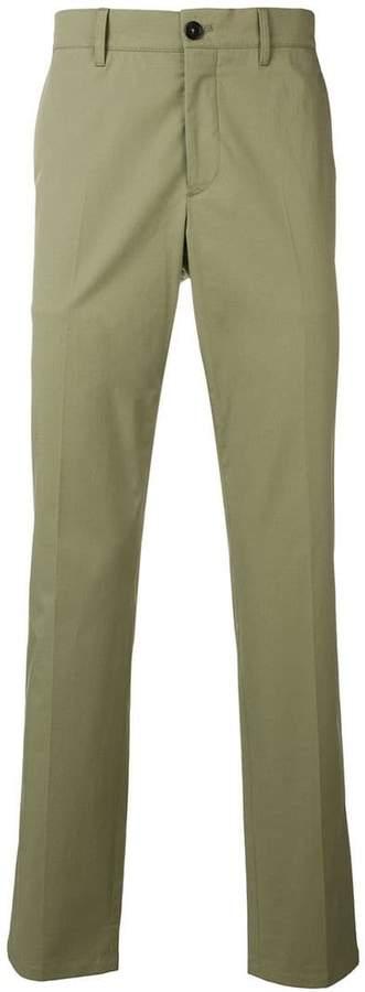 Prada pleated tailored trousers