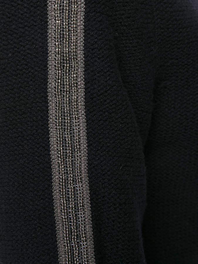 Jo No Fui roll neck stripe sweater
