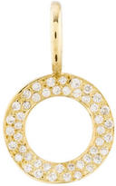 Ippolita Diamond Stardust Open Circle Pendant