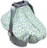 Summer Infant 2-in-1 Carry & Cover Infant Car Seat Cover in White Dots