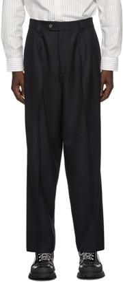 mfpen Navy Classic Trousers
