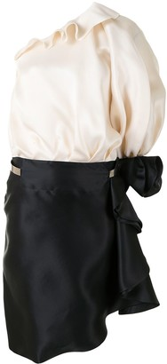 Givenchy Pre-Owned One-Shoulder Asymmetric Dress