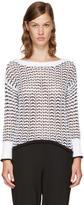 Rag & Bone White Daniela Sweater