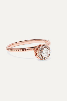 Selim Mouzannar Beirut 18-karat Rose Gold Diamond Ring