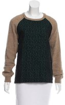 Roseanna Textured Crew Neck Sweater