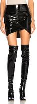 RtA ANNA DELLO RUSSO X for FWRD Ivy Skirt in Black.