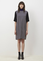 Dries Van Noten navy dalisi bis dress