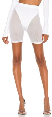 LaQuan Smith X REVOLVE Mesh Biker Short