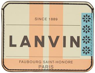 Lanvin Multicolor Graphic Card Holder