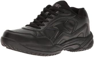 AdTec Ad Tec Women's 8634 Uniform Athletic Lace Up Black Work Shoe Numeric_7