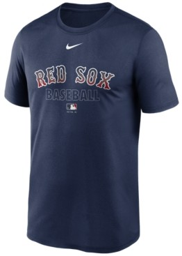 Nike Boston Red Sox Men's Authentic Collection Legend Practice T-Shirt