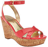 Marc Fisher Cross Strap Wedge Sandals w/ AnkleStrap - Welly