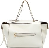 Celine Ring White Leather Handbags