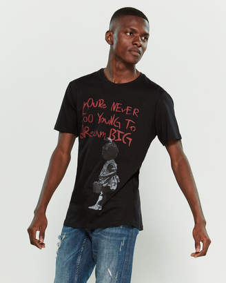 Eleven Paris Life Is A Joke By Smash Hits Graphic Print Short Sleeve Tee