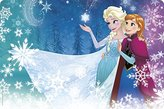Zak Designs Zak! Designs Placemat with Elsa, Anna and Olaf from Frozen, BPA-free Plastic