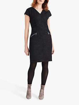 Phase Eight Delmar Denim Dress, Dark Indigo