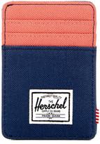 Herschel Raven Canvas Wallet Clip