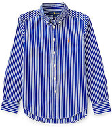 Ralph Lauren Big Boys 8-20 Striped Long-Sleeve Poplin Shirt