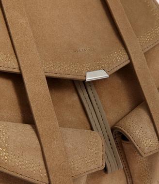 AllSaints Ziggy Suede Backpack