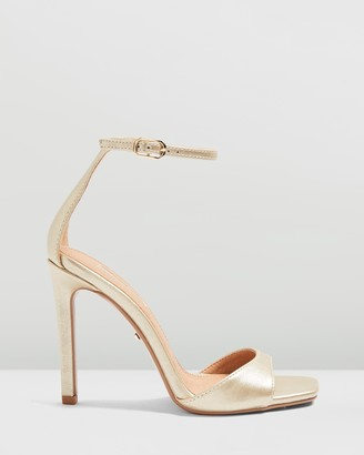 Topshop Silvy Skinny Two-Part Sandals