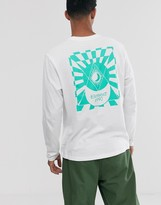 Element Ambience long sleeve top in white