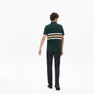 Lacoste Men's Regular Fit Thick Cotton Pique Polo Shirt
