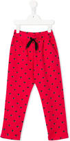 Kenzo Eye print trousers - kids - Cotton - 2 yrs