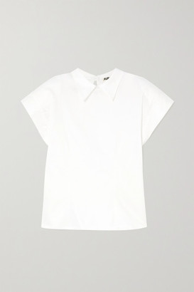 AVAVAV Cotton-blend Blouse - White