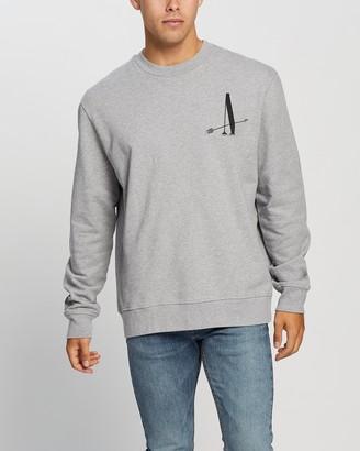 AllSaints Target Crew Sweater