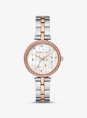 Michael Kors Maci Celestial Two-Tone Watch - Two Tone