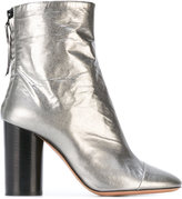 Isabel Marant Grover crinkle ankle boots - women - Leather - 36