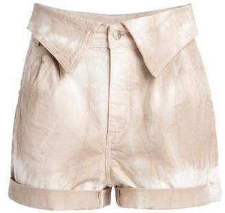 Stella McCartney Bamboo Safari Tie Dye Shorts