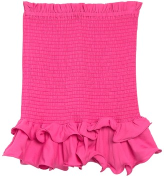 Do & Be Convertible Smocked Ruffled Top Skirt