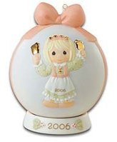 "Precious Moments Christmas Ornament ""Ringing In The Season"""