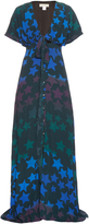 Mara Hoffman Star-print crepe maxi dress