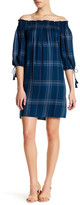 Max Studio Plaid Dress (Petite)