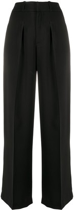 P.A.R.O.S.H. High Waisted Palazzo Trousers