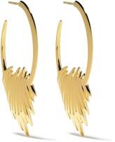 Shaun Leane Quill hoop earrings
