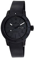 Fortis Limited Edition Cosmonautis Pitch Black B-42 Automatic Titanium Mens Watch 647.28.81.K