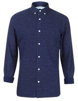 Burton Mens Tall Long Sleeve Indigo Printed Shirt