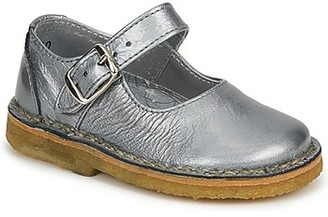 Pinocchio LIANIGHT girls's Shoes (Pumps / Ballerinas) in Silver