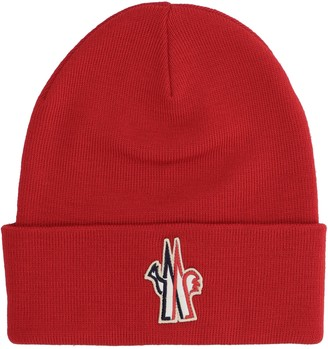 MONCLER GRENOBLE Logo Patch Beanie